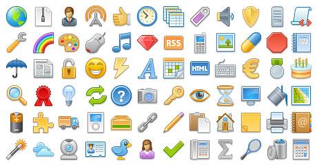 Fatcow's 3,926 Free Web Icons