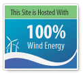 wind  powered logo