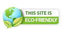 Fatcow hosting site Eco Friendly icon.